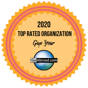 Badge awarded to the HDC as a top rated Gap Year organization